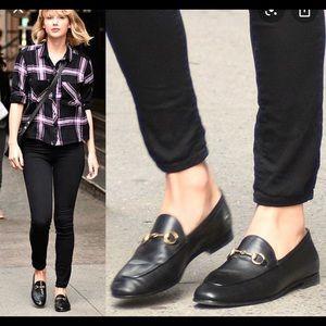 Gucci black Brixton Horsebit loafer